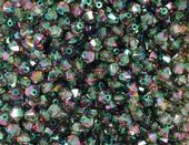 25 x 4mm SWAROVSKI® ELEMENTS Paradise Shine  Xilion Beads